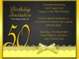 Examples Of 50th Birthday Invitations 50th Birthday Invitation Wording Samples Wordings and