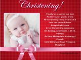 Examples Of Baptism Invitations Christening Invitation Wording Wordings and Messages