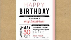 Examples Of Birthday Invitations for Adults Adult Birthday Invitations 35 Pretty Examples Jayce O Yesta