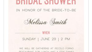 Examples Of Bridal Shower Invitations 30 Best Bridal Shower Invitation Templates