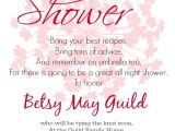 Examples Of Bridal Shower Invites Invitation Regrets Sample Gallery Invitation Sample and