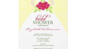 Examples Of Bridal Shower Invites Sample Bridal Shower Invitations Wording