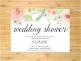 Examples Of Bridal Shower Invites Sample Invitation for Wedding Shower Matik for