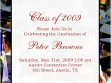 Examples Of College Graduation Invitations Examples Of Graduation Announcements Quotes Quotesgram