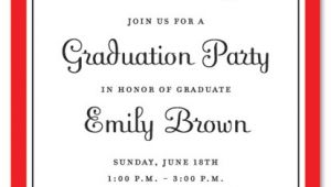 Examples Of Graduation Party Invitations Graduation Party Invitations Party Ideas