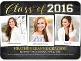 Examples Of High School Graduation Invitations Graduation Announcement Wording Ideas for 2017 Shutterfly