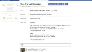 Facebook Wedding Invitation Template Facebook Becoming the Popular Replacement for Wedding