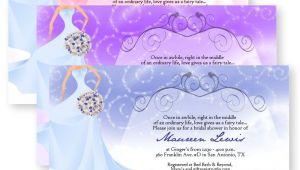 Fairy Tale Bridal Shower Invitations Fairytale Bridal Shower Bouquet Sparkly Sparkle Wedding