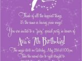 Fairy themed Birthday Invitation Wording Fairy Party Invitation Wording Fairy Enchanted