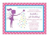 Fairy themed Birthday Invitation Wording Little Fairy Silhouette Birthday Party by Cherishedtimes