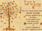 Fall Bridal Shower Invitation Templates Fall In Love Bridal Shower Invitation by Whateveris On Etsy