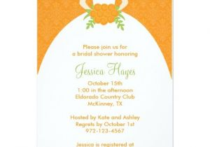 Fall Bridal Shower Invitations Free Fall Bridal Shower Invitations