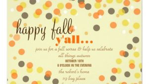 Fall themed Party Invitations 6 000 Fall Party Invitations Fall Party Announcements
