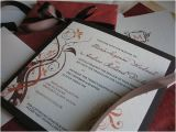 Fall themed Wedding Invitations Cheap Diy Wedding Challenge Elegant Fall Colored Wedding