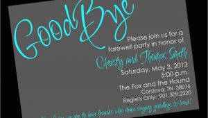 Farewell Party Invitation Template Free Free Printable Invitation Templates Going Away Party