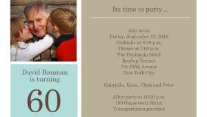 Father S 60th Birthday Invitation Wording 60th Birthday Invitations