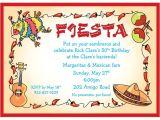 Fiesta Christmas Party Invitations Fiesta Party Invitations