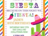 Fiesta Christmas Party Invitations Personalised Personalized Mexican theme Siesta Fiesta