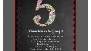 Fifth Birthday Party Invitation Wording Staggering 5th Birthday Party Invitation Wording