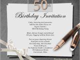 Fifty Birthday Invitation Wording 50th Birthday Invitation Wording Samples Wordings and