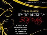 Fifty Birthday Invitation Wording 50th Birthday Invitations and 50th Birthday Invitation