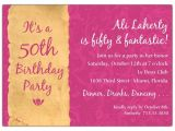 Fifty Birthday Invitation Wording Quotes for 50th Birthday Invitations Quotesgram