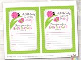 Fillable Baby Shower Invitations Fill In Baby Shower Invitations Little by Inkobsessiondesigns