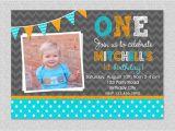 First Birthday Invitations Boy Free Invitation Card for First Birthday Baby Boy