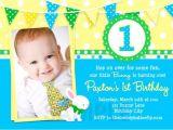 First Birthday Invitations Boy Wording 1st Birthday Invitation Wording – Bagvania Free Printable