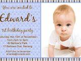 First Birthday Invitations Boy Wording 1st Birthday Invitation Wording Ideas