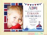 First Birthday Invitations Boy Wording Birthday Invitation Wording for 5 Year Old Boy