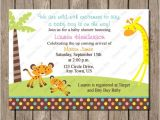 Fisher Price Baby Shower Invitations Fisher Price Jungle Baby Shower Invitation Digital Printable