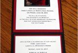 Folded Graduation Invitations Invitation Fold Graduation Invitations Pinterest