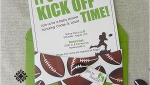 Football Baby Shower Invitation Template Football Baby Shower Invitations – Gangcraft