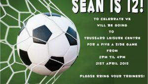 Football Party Invitation Template Uk 40th Birthday Ideas Free Football Birthday Party