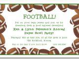Football Party Invitation Wording Football Banquet Invitation Templates