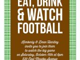 Football Party Invitation Wording Watch Football Party Invitations by Invitation