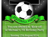 Football Party Invitations Templates Free Football Party Invitations theruntime Com