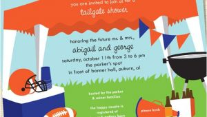 Football Tailgate Party Invitation Wording Sweet Wishes Football Tailgating Tent Invitations Customize