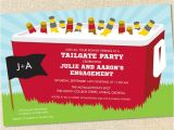 Football Tailgate Party Invitation Wording Sweet Wishes Tailgating Cooler Football Party Invitations