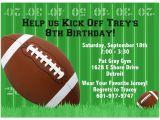 Football themed Birthday Party Invitation Wording 8 5×11 Super Bowl Xlviii Football Printable Invitations