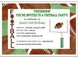 Football themed Party Invitation Wording Football Party Invitation Wording Oxsvitation Com