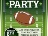Football Watch Party Invitation Wording Football Invitation Superbowl Tailgate Party by