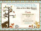 Forest Friends Baby Shower Invitations forest Friends Woodland Baby Shower Invitation by Bdpdesigns