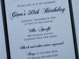 Formal 70th Birthday Invitation Wording Black and White Elegance formal Birthday Invitation