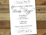 Formal Bridal Shower Invitations Unavailable Listing On Etsy