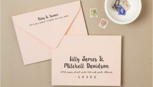Formal Wedding Invitation Address How to Address Wedding Invitation Wedding Invitation