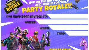 Fortnite Birthday Invitation Template Excited to Share the Latest Addition to My Etsy Shop