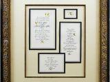 Framing Wedding Invitation Framed Wedding Invitation Sunshinebizsolutions Com