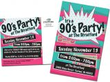 Free 90s Party Invitation Template 90 39 S Party 90 39 S themed 21st Birthday Party Pinterest